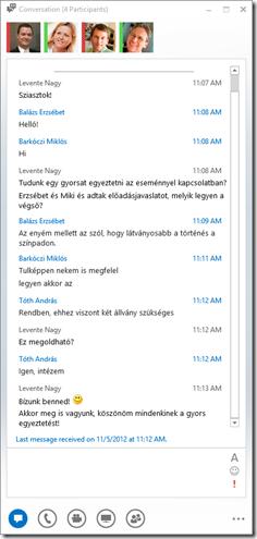 Cikk 1 - Beszélgetés